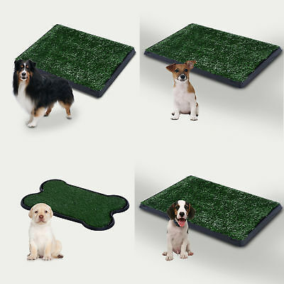 £25.99 • Buy Large Dog Toilet Mat Indoor Potty Puppy Trainer Grass Litter Tray Pad Restroom