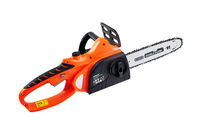 "View Details Cordless Chainsaw 18v Li-Ion Battery Charger 10"" Oregon Bar Chain Heavy Duty Kit • 99.99£"