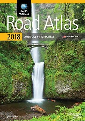 Rand Mcnally USA Road Atlas 2018 BEST Travel Maps United States Large Scale • 15.09£