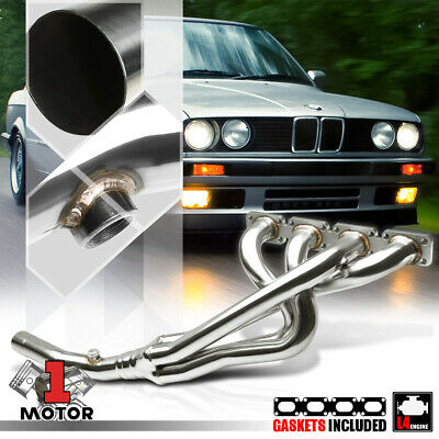 $69.97 • Buy Stainless Steel Exhaust Header Manifold For 91-98 BMW E30/E36 3-Series M42 B18