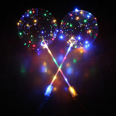 AU4.98 • Buy LED Light UP Balloons Party Bubble Balloon Birthday Wedding Event Decoration