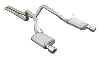 $425.68 • Buy 2005-2009 Mustang GT Pypes Cat-Back Exhaust System W/ Violator Mufflers 4  Tips