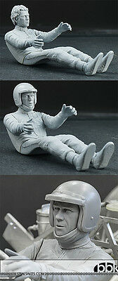 $134.50 • Buy 1/12 STEVE McQUEEN SEATED + HELMET + SCARF For HIRO PORSCHE 917K 356 908/2