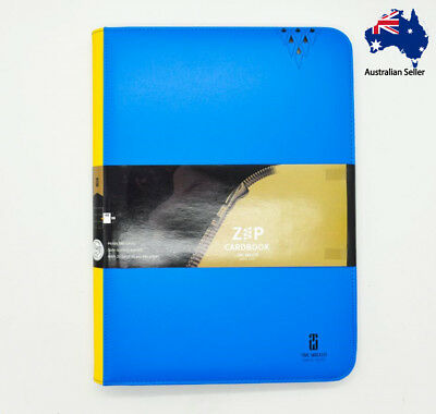 AU43.95 • Buy TimeWalker 9 Pocket Full Closed Cardbook Binder Album Folder Storage Magic MTG