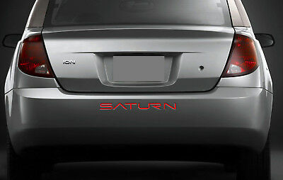 $15.95 • Buy BDTrims   Red Rear Letters For Saturn ION ABS Plastic Inserts