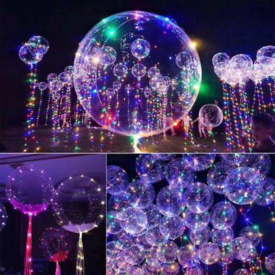 AU5.98 • Buy New LED Balloon Luminous Light Up Glow Wedding Birthday Xmas Party Decor Event