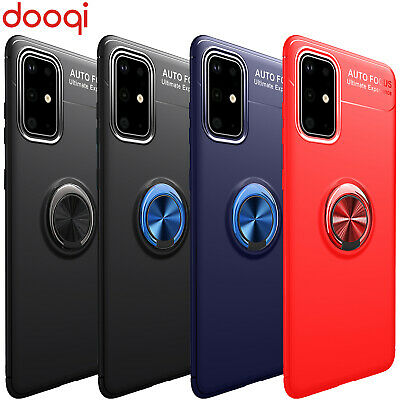 $ CDN10.75 • Buy For Samsung Galaxy S20 Plus Ultra Note 9 8 10 S8 S9 S10 Metal Magnetic Ring Case