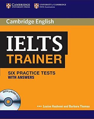 IELTS Trainer Six Practice Tests With Answers And Audio CDs (3) By Louise Hashem • 29.99£