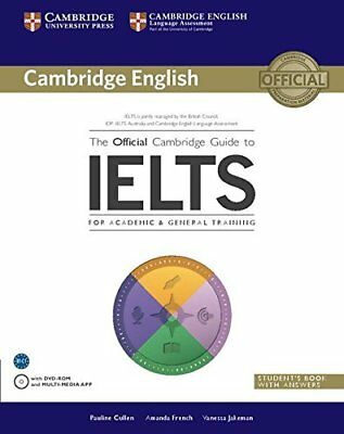 £14.50 • Buy The Official Cambridge Guide To IELTS Student's Book With Answers With DVD-ROM