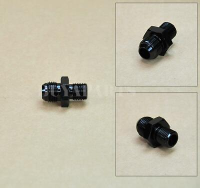 $5.99 • Buy Black Aluminum Billet AN8 8 An To M16x1.5 Metric Male Fitting Straight Adapter
