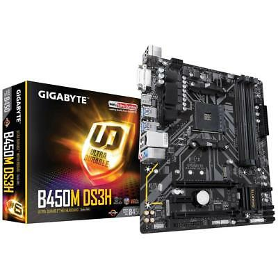AU169 • Buy Gigabyte B450M-DS3H AMD Ryzen AM4 MATX Gaming Motherboard 4x DDR4 M.2 HDMI DP
