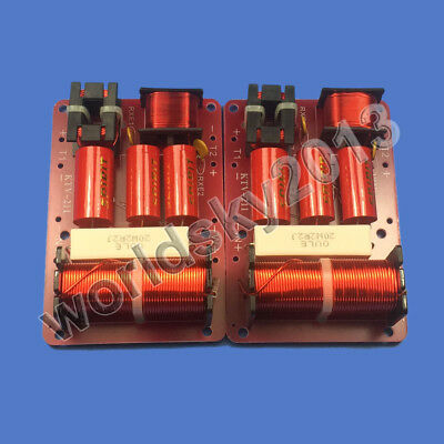 $ CDN36.33 • Buy 2pcs KTV-211 250W Dual Tweeter 2 Way Speaker Frequency Divider Crossover Filters