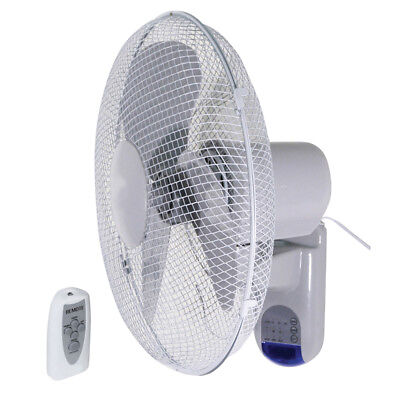 Prem-I-Air 16  40CM Wall Fan With Remote Control And Timer EH1620 • 41.99£
