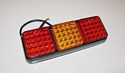 Trailer Rear Led Light Lamp Replacement  Fit Ifor Williams Horse Box Hb 505 510  • 40.98£