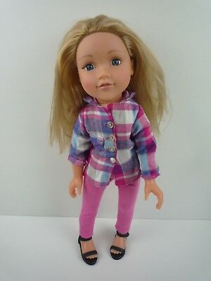£16.99 • Buy Design A Friend Doll 18  Blonde Hair With Pink Outfit & Shoes / Chad Valley