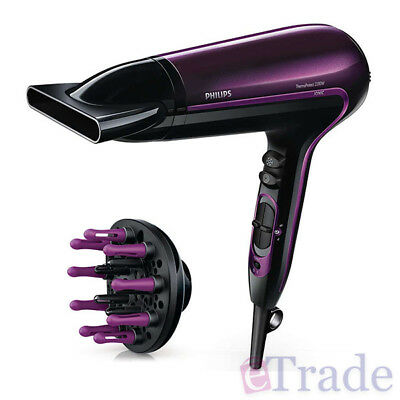 AU53.90 • Buy Philips HP8233 Professional Ionic Hair Dryer ThermoProtect & Cool Shoot 2200W