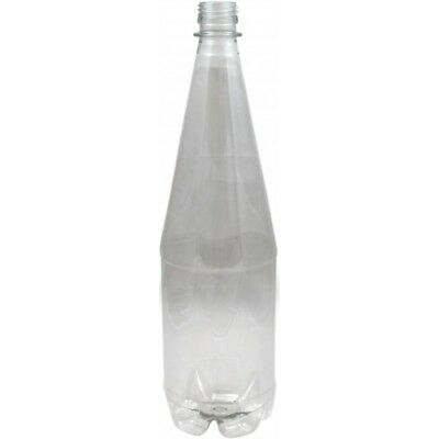£21.95 • Buy PET Plastic Bottles Clear 1 Litre With Screw Caps (24 Pack) - Homebrew - Beer Br