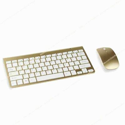 Wireless MINI Mouse And Keyboard Set For I-Mac A1311 Computer GD HS • 12.02£