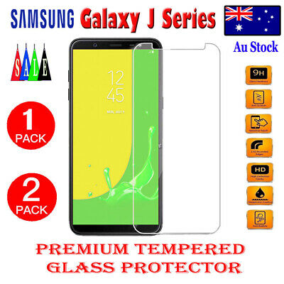 AU4.99 • Buy 2X Tempered Glass Screen Protector For Samsung Galaxy J8 2018 J2 J5 J7 Pro Prime