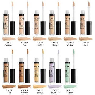 $4.59 • Buy 1 NYX HD Photogenic Concealer Wand - CW  Pick Your 1 Color  *Joy's Cosmetics*
