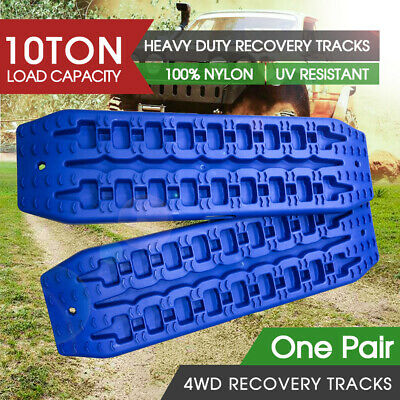 AU65 • Buy 10T Pair Recovery Tracks Sand Track 2pc Sand / Snow / Mud Trax 4WD Blue NEW