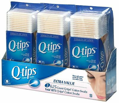 $ CDN37.87 • Buy Q-tips Cotton Swabs, Club Pack 625 Ct, 3ct, {Imported From Canada}
