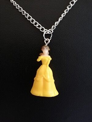 £3.99 • Buy Disney Princess Beauty & The Beast Necklace Pendant 16 Inch Chain Xmas Gift