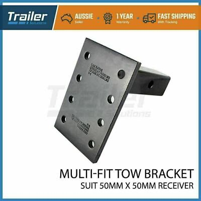 AU65 • Buy Trailer Hitch Pintle Receiver Arm - Adaptor For Pintle Hook With Solid Shank