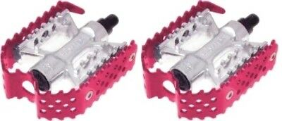 $24.99 • Buy Odyssey Triple Trap BMX Cage Pedals Red Anodized 9/16