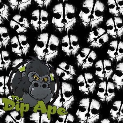 Hydrographic Film Hydro Call Of Duty Skulls Water Transfer Dip Ape • 5.72£