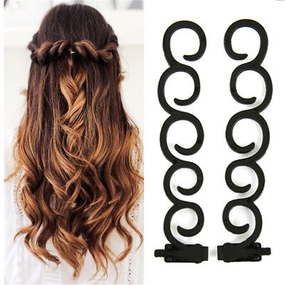 $1.49 • Buy French Braiding Braider Tools Hair Styling Clip Roller Twist Maker Accessories