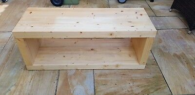 £90 • Buy Real Wood Hand Made  Coffe Table/tv Stand