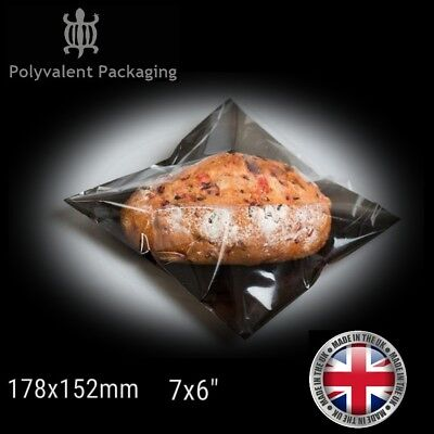 £9.99 • Buy Film Front Cellophane Clear Window Sandwich Bags, Deli Bags, Bakery Bags Display