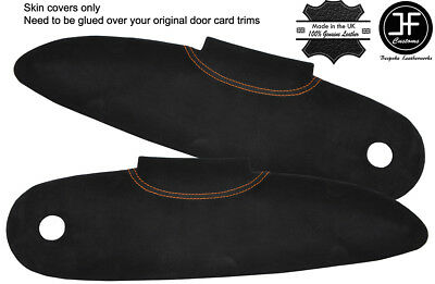 $ CDN156.81 • Buy Orange Stitch 2x Door Card Trim Suede Covers For Lotus Elise S1 96-01 Style 2