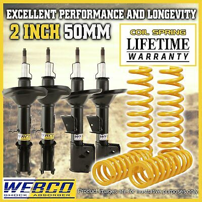 AU700 • Buy 2 Inch 50mm Lift Kit Shock Absorbers King Coil Springs For Nissan X-TRAIL T30