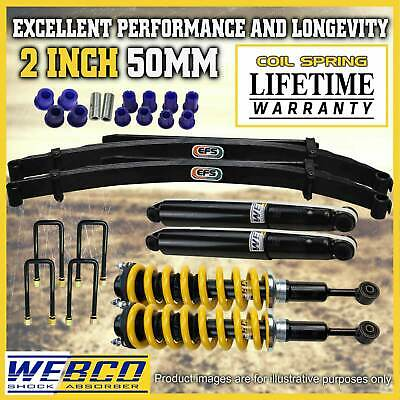 AU995 • Buy 2 Inch Pre Assembled Lift Kit King Springs EFS Leaf For Toyota Hilux KUN26 GGN25