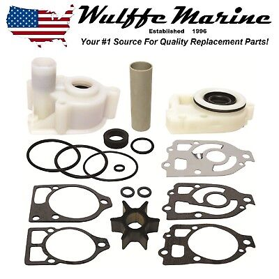 Water Pump Impeller Kit for Mercury 75 80 90 115 140 150 Hp 18-3314  46-73804A3