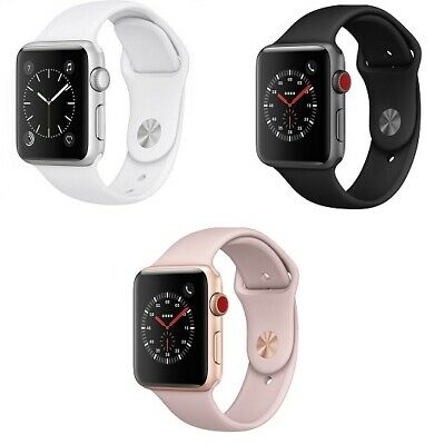 $ CDN249.95 • Buy Apple Watch Series 3 - 38 42mm GPS 4G Stainless Steel Aluminum Case Smart Watch
