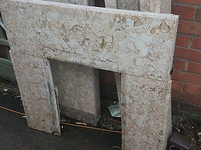 £55 • Buy Old Fire Place Bits, Stone In Light And Dark Colours