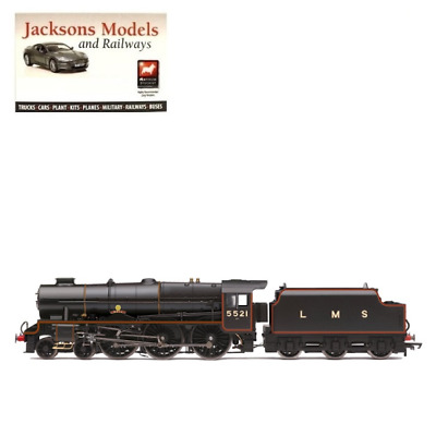 Hornby R3614 LMS Patriot Class Locomotive 4-6-0 5521 Rhyl Era 3 OO Gauge • 149.95£