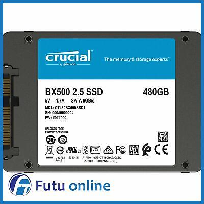 AU77 • Buy 480GB SSD Crucial BX500 2.5  SATA III Internal Solid State Drive+ Acronis 540MBs