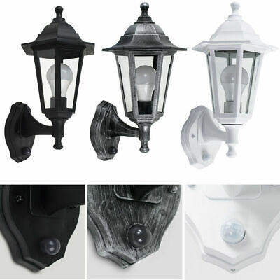 Traditional Outdoor Wall Lantern MiniSun Dusk - Dawn Sensor IP44 Garden Light • 20.99£