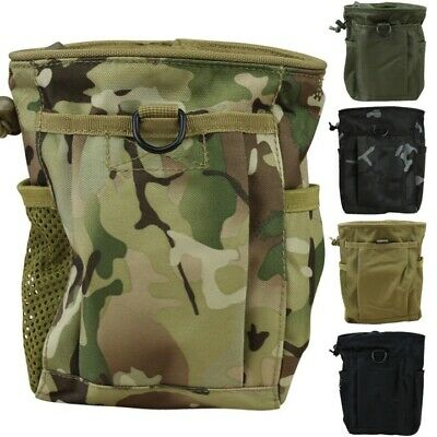 £13.99 • Buy Large Dump Pouch Molle Magazine Drop Bag Mag Army Webbing Tactical Sports Mtp