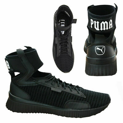 3ee2f5568 Puma X Fenty Trainer Mid By Rihanna Womens Trainers Black 190938 01 M18 •  79.12€