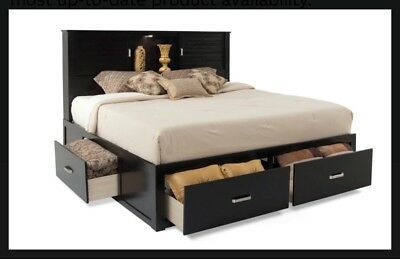 $370 • Buy Queen Bed Frame With Storage