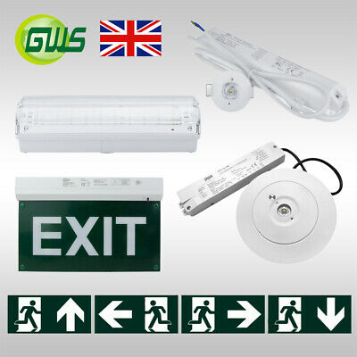 £25 • Buy LED Emergency Ceiling Light Exit Bulkhead Spotlight Maintained/Non-Maintained CE