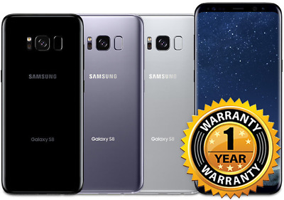 $ CDN402.23 • Buy Samsung S8 G950u 5.8  64GB 4G LTE GSM Unlocked Smartphone 1 Year Warranty