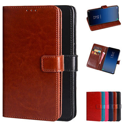 $ CDN10.75 • Buy For Samsung Galaxy Note10 9 S9 S10+ Plus PU Leather Wallet Card Flip Stand Case