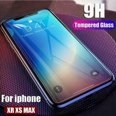 AU5.45 • Buy Full Tempered Glass Screen Protector IPhone 11 12 Pro Mini 6 7 8 Plus XR XS Max