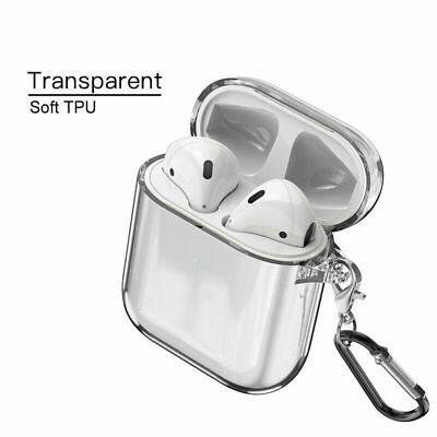 $ CDN4.63 • Buy For Apple AirPods Accessories Clear Crystal Case AirPod Soft TPU Cover Protector